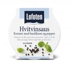 Lofoten Hvitvinsaus - Kremet med basilikum og sort pepper