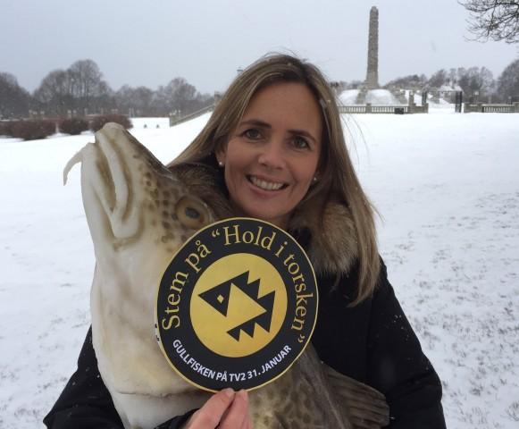 Camilla Beck Sætre  m gullfiskenskilt