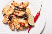 Krabbeklør med chili