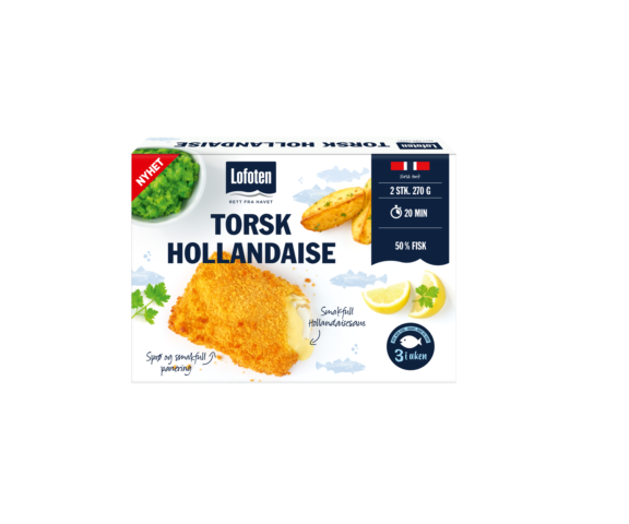 Lofoten Torsk Hollandaise