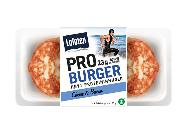 Lofoten PROburger Cheese & Bacon