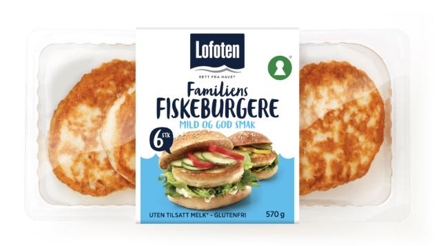 Lofoten Familiens Fiskeburgere 6stk
